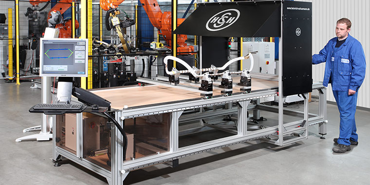 3D Mesauring Table